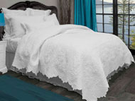 "Cotton Filled Quilted Coverlette Twin and King Only.<strike>Reg 109.98 - $139.98 </strike> <font color=""red"">   Now $35.00 - $39.98 </font> WOW!!"