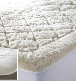 Kouchini Organic Wool Mattress Pad Overlay North Shore