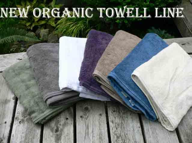 New Organic Towel Line