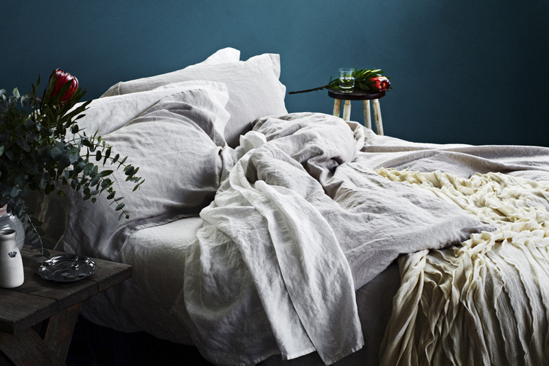 Bedding And Linens Part - 29: 100% Linen Duvet Covers And Sheet Sets