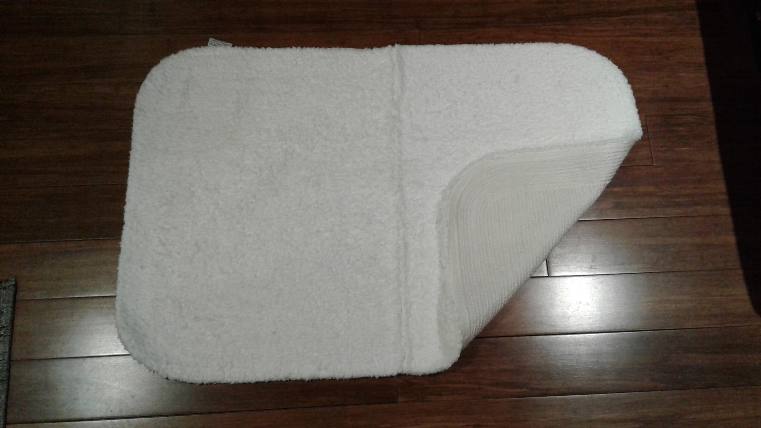 Plush Bathroom Rugs White Nonskid Reg $29.98  NOW $12.98