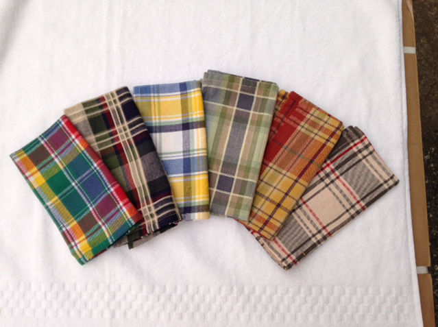 Cotton Classic Plaid Table Cloths 100% Cotton.