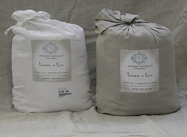 Linen Cotton Sheets (way cooler than all cotton sheets) $119.98 to $159.98
