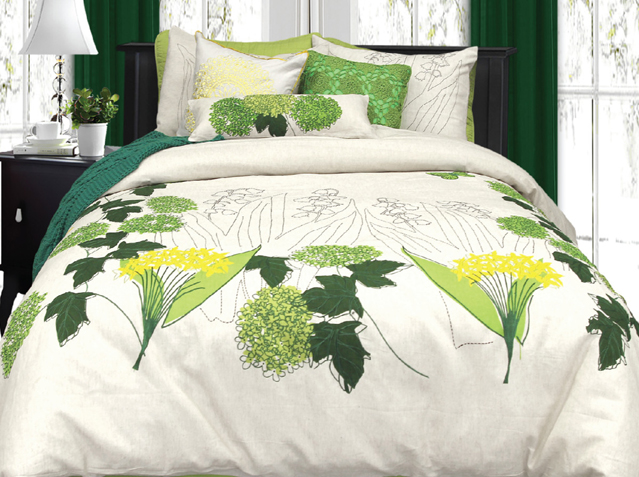 Eden By Alamode in Quen and King Duvet Cover Sets.70% cotton, 30% linen $49.98 SPECIAL