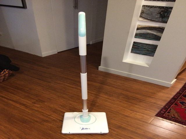 "Nellie's All-Natural Wow Mop- Cordless, Light-Weight and Rechargeable  <strike>Reg $259.98 </strike> <font color=""red"">Now $224.00 </font>"